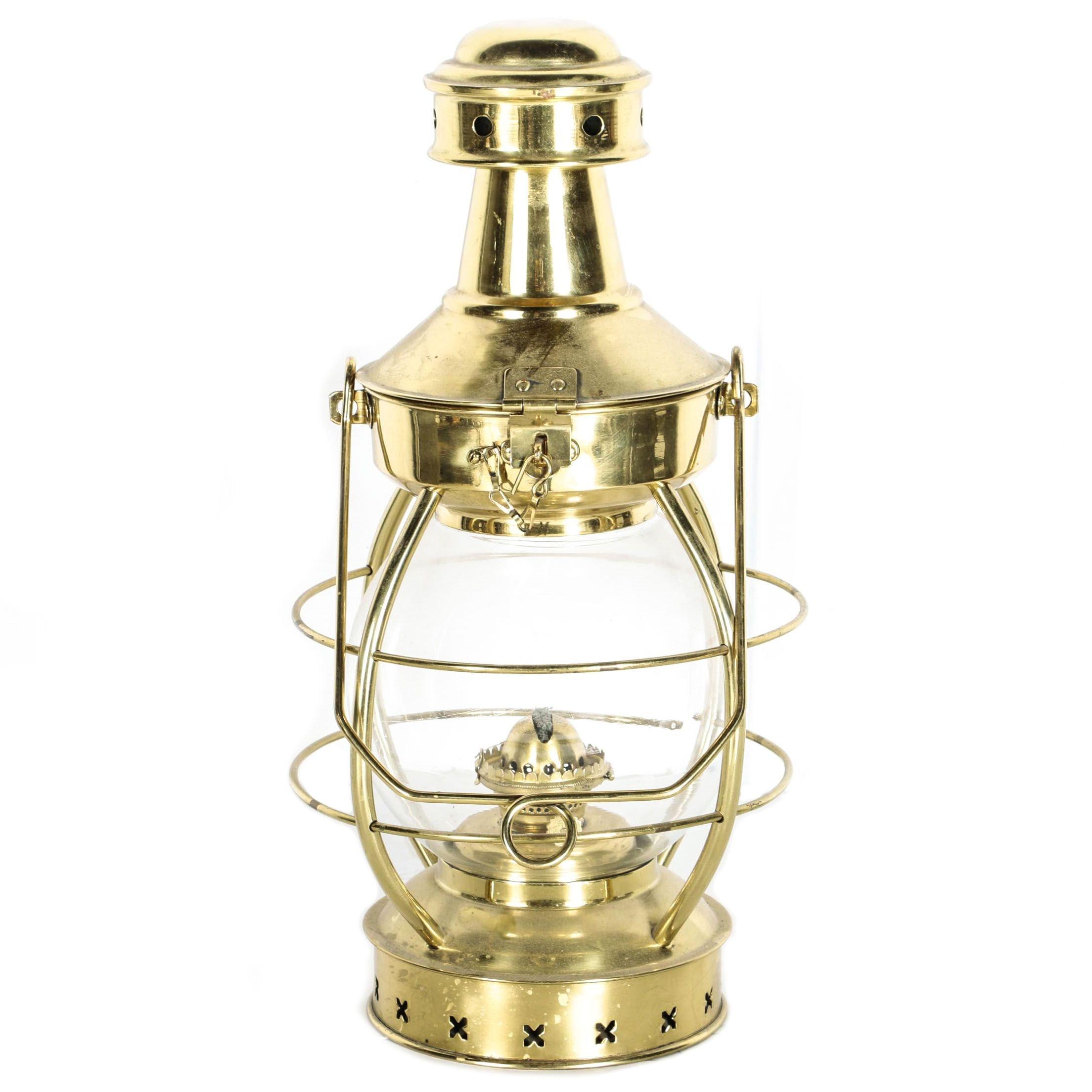 Brass Oil Lantern