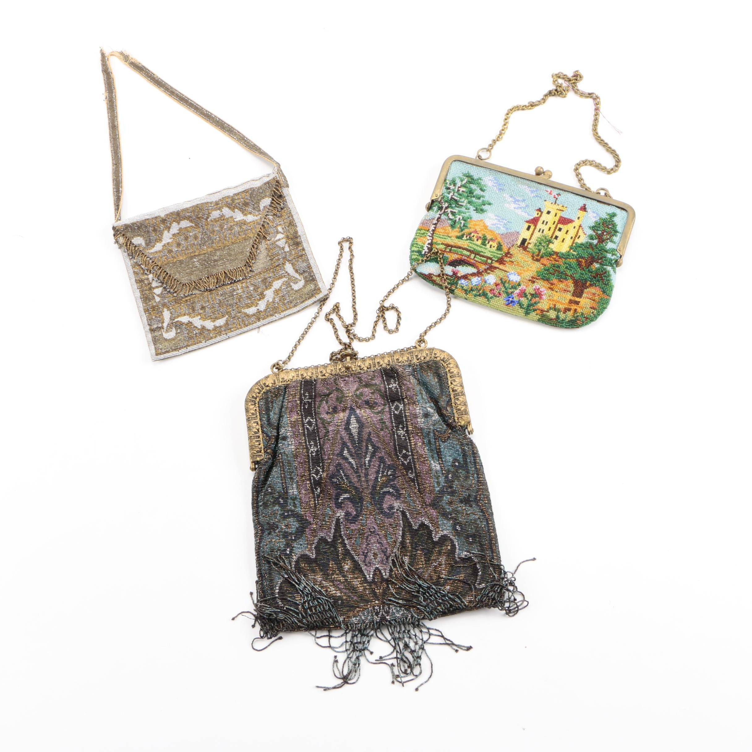 Antique & Vintage Small Beaded Purses