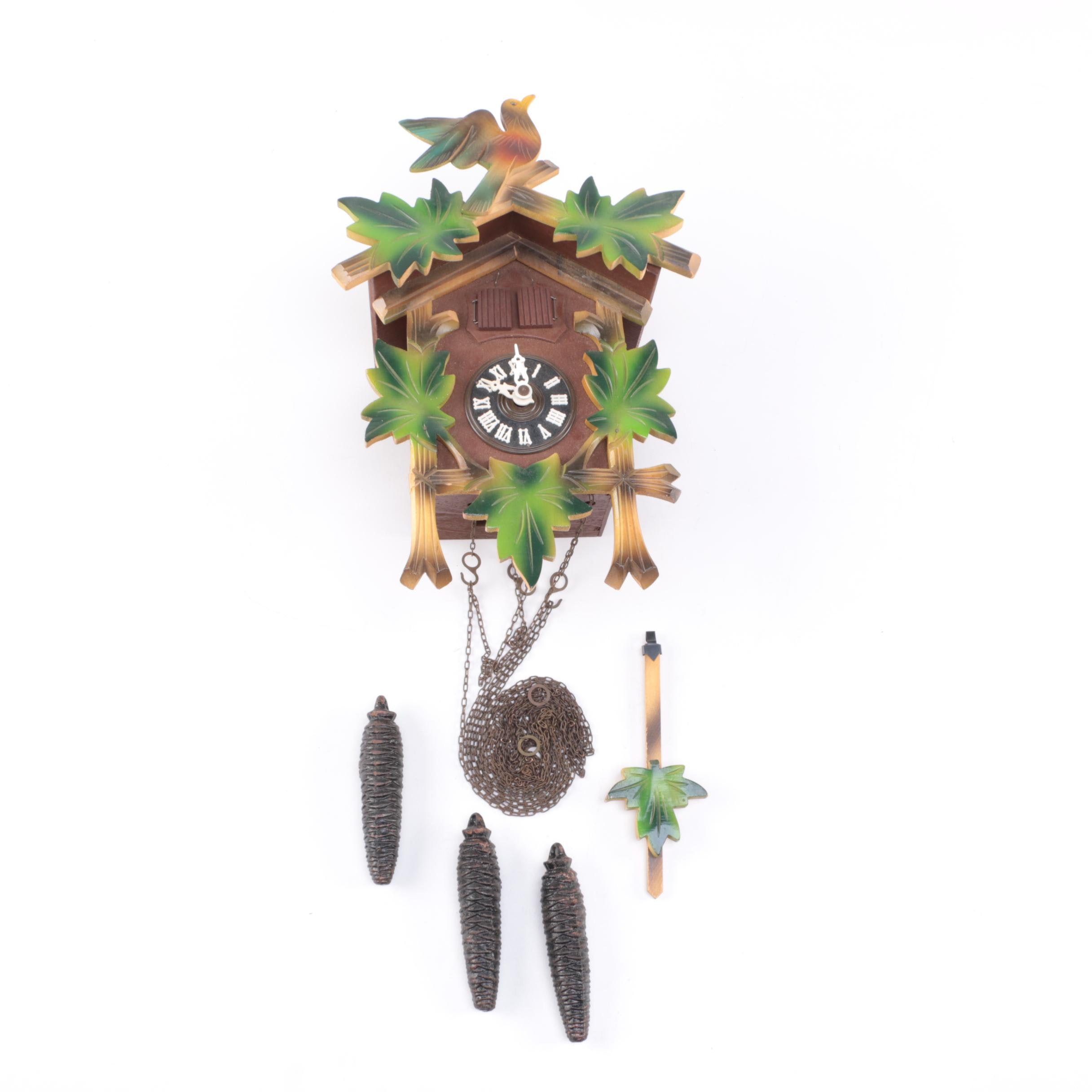Brown Wooden Cuckoo Clock