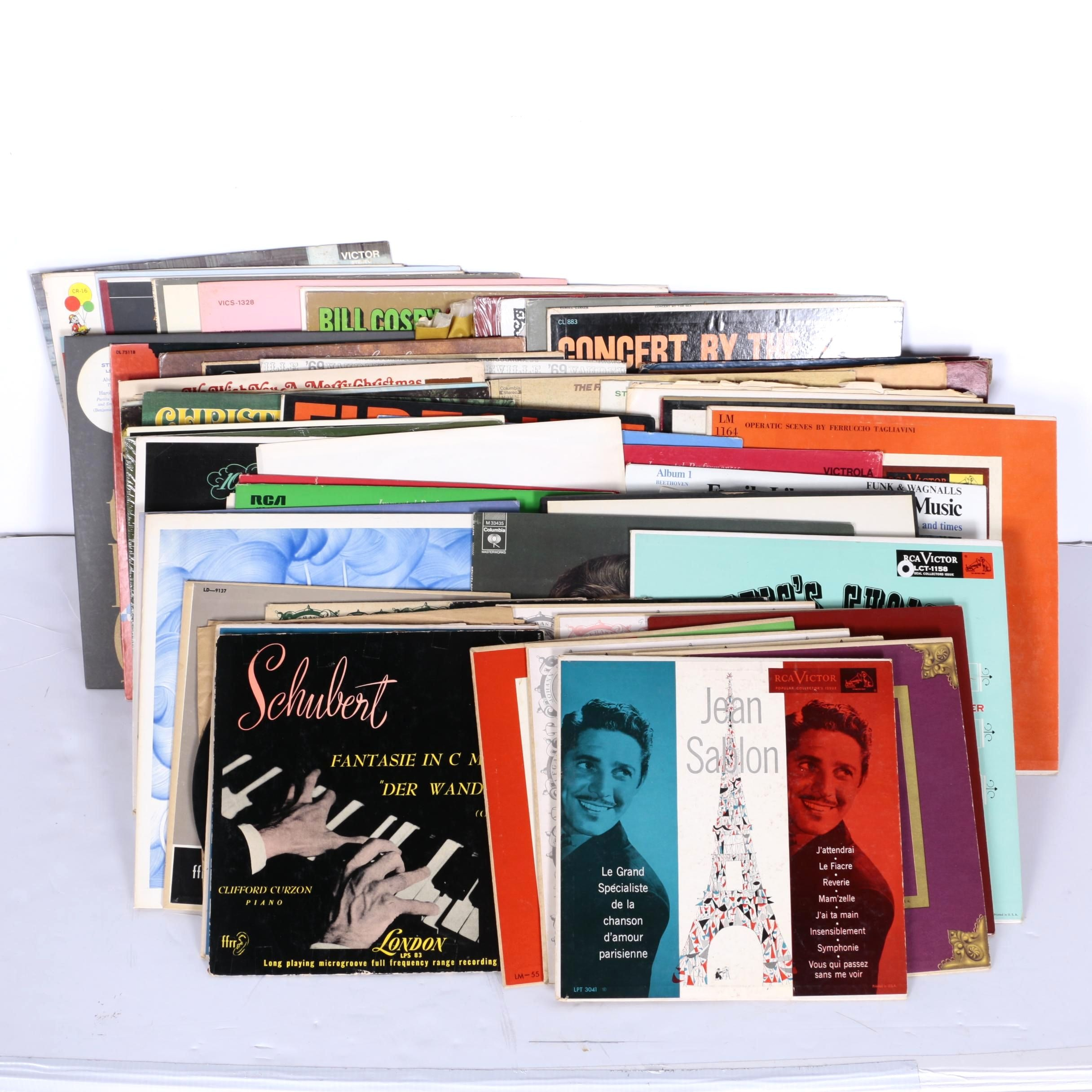 Vintage Classical and Easy Listening LPs