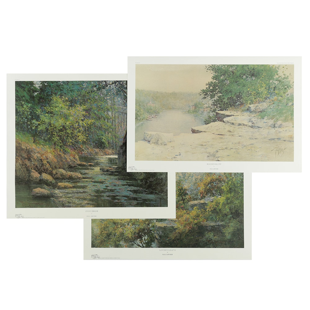 Limited Edition Offset Lithographs After Paul Sawyier