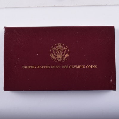 1988 Olympics Commemorative Proof Coin Set