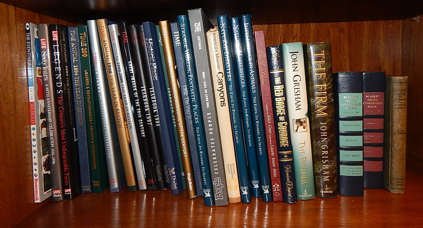Fiction and Nonfiction Book Collection