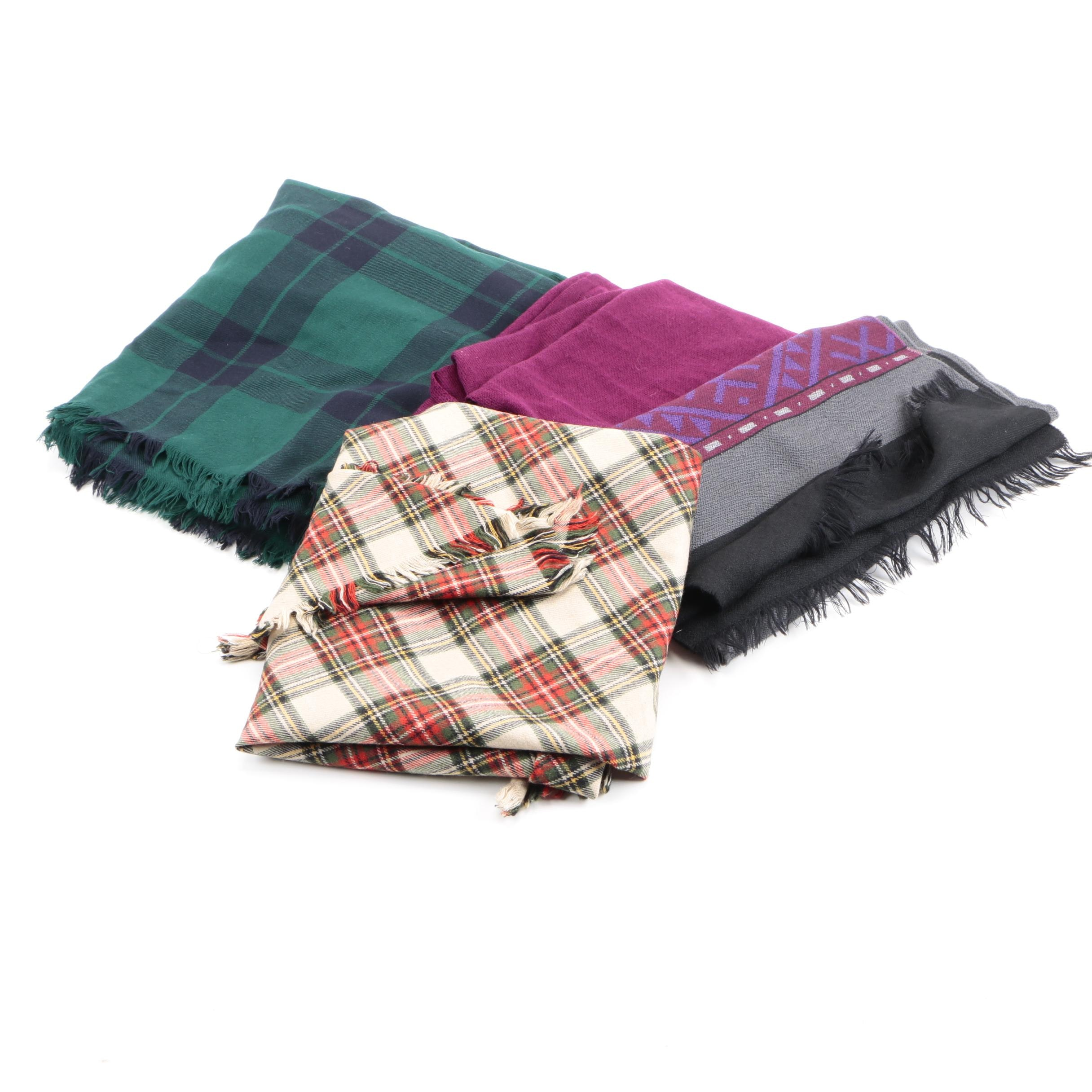 Woolen Scarves Including Marshall Field's