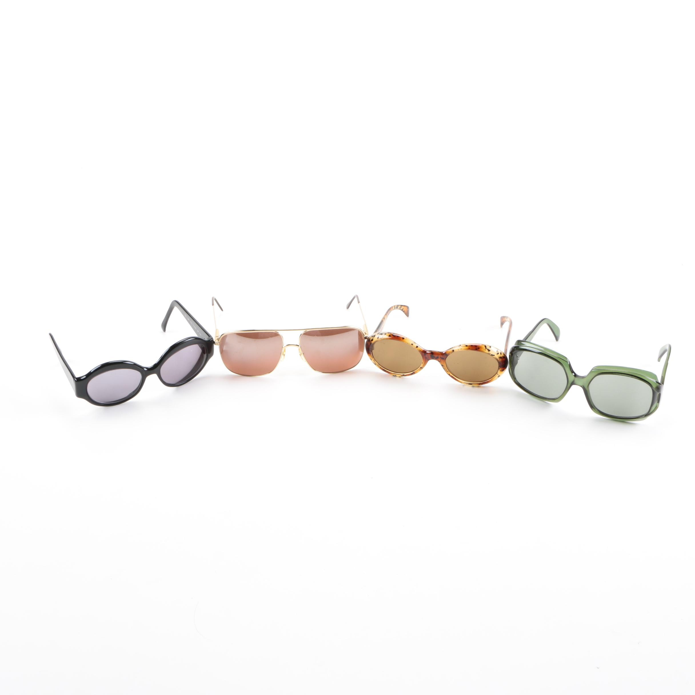 Vintage Sunglasses Including Ray-Ban