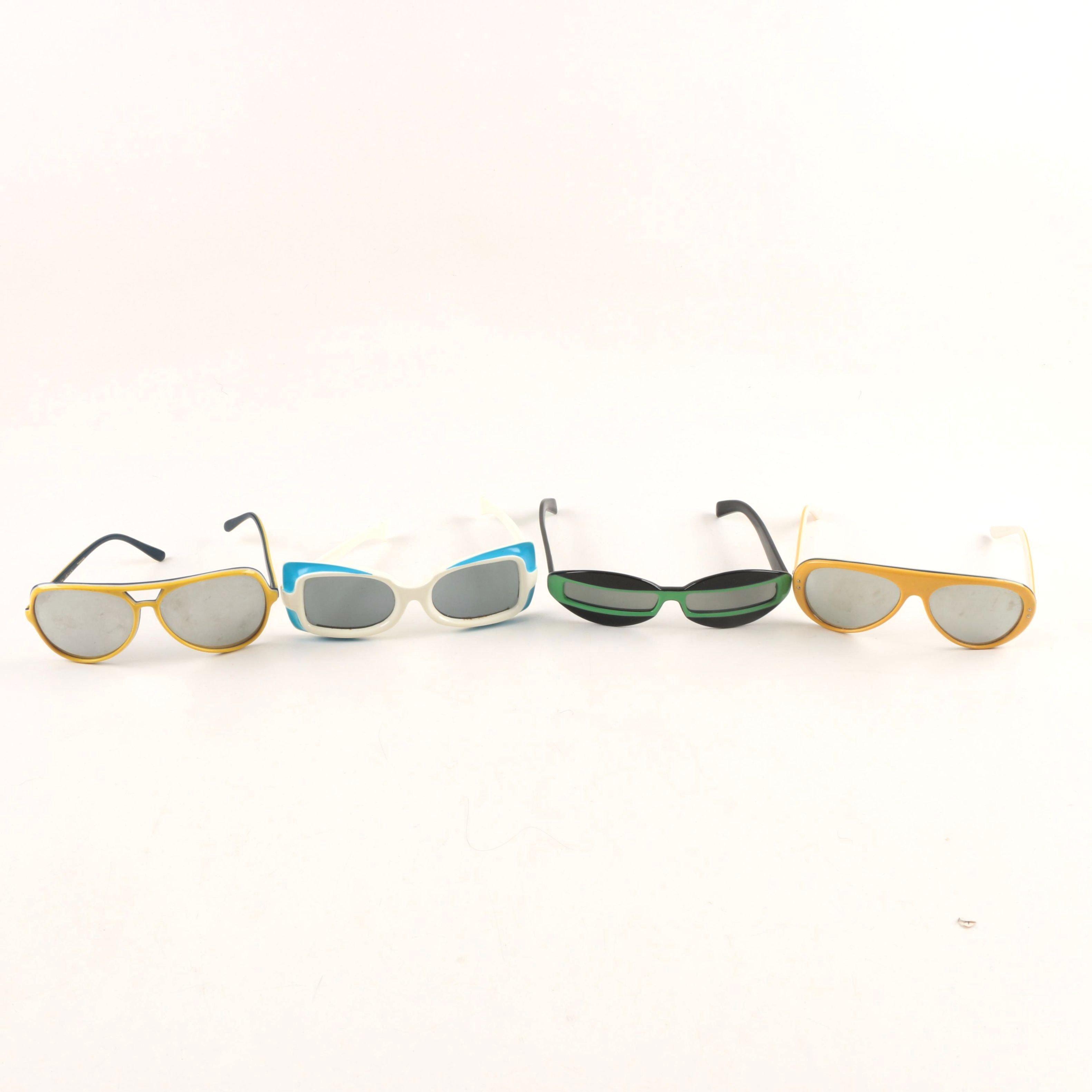 Vintage Sunglasses Including Ski Optiks