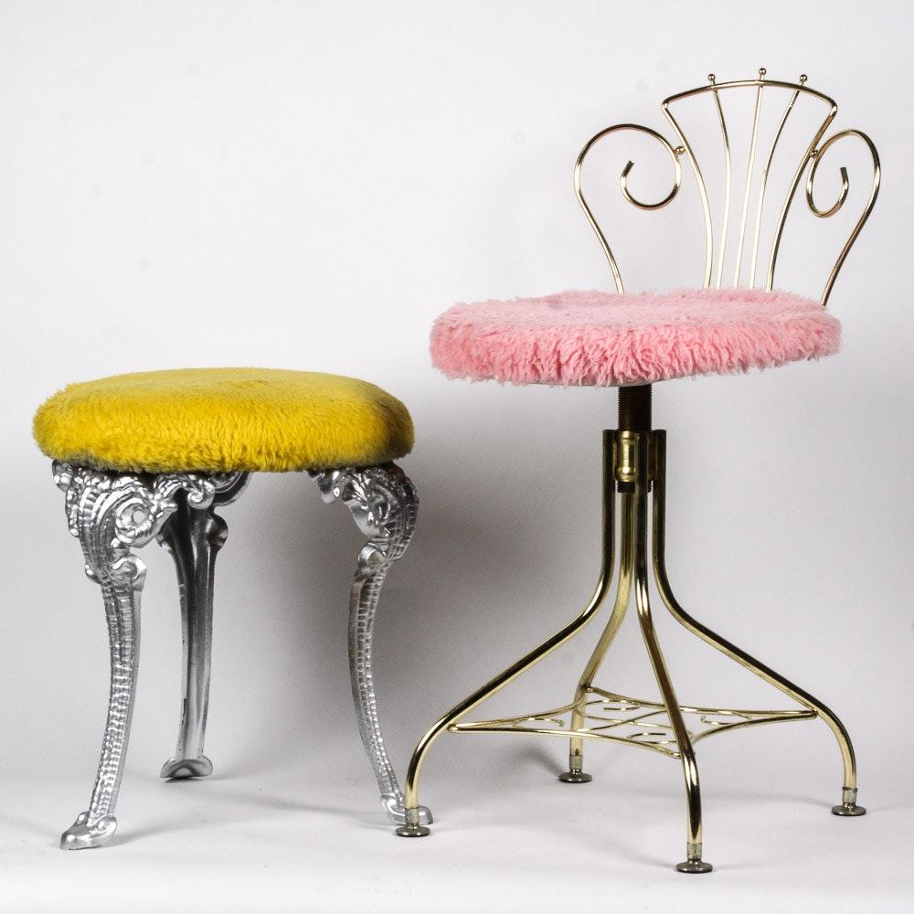 Vintage Vanity Stools