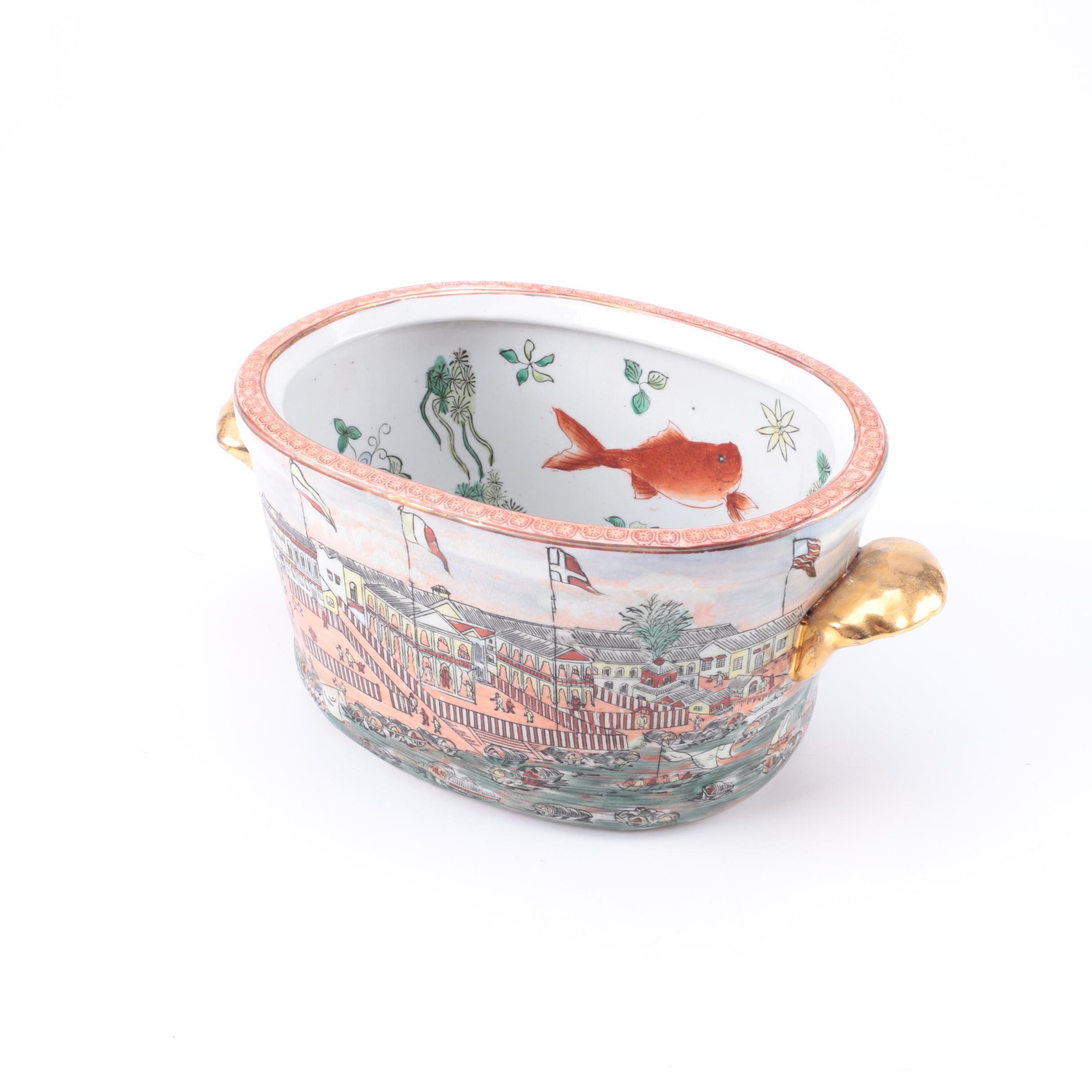 Chinese Porcelin Decorative Pot
