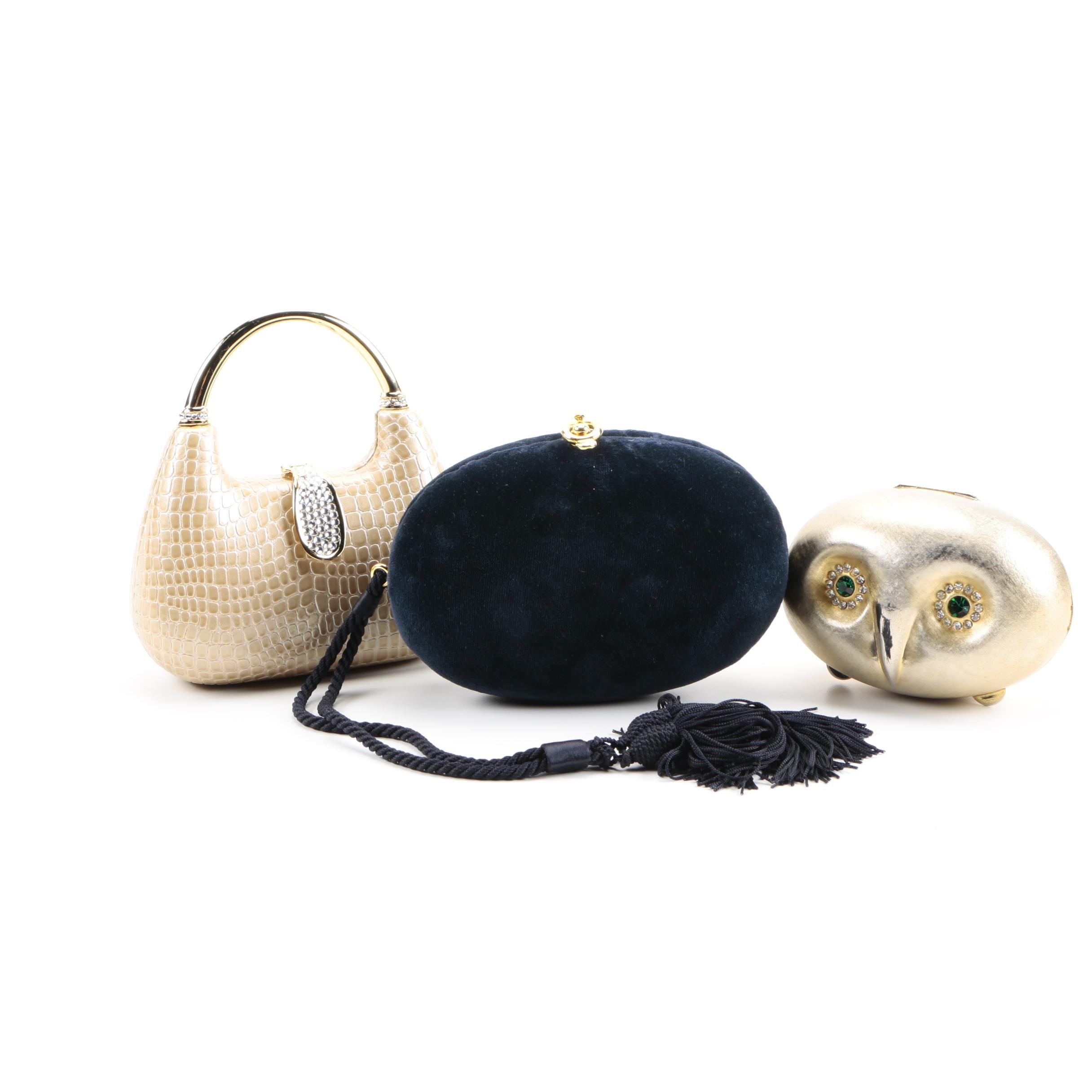 Hardshell Evening Bags Including Bergdorf Goodman