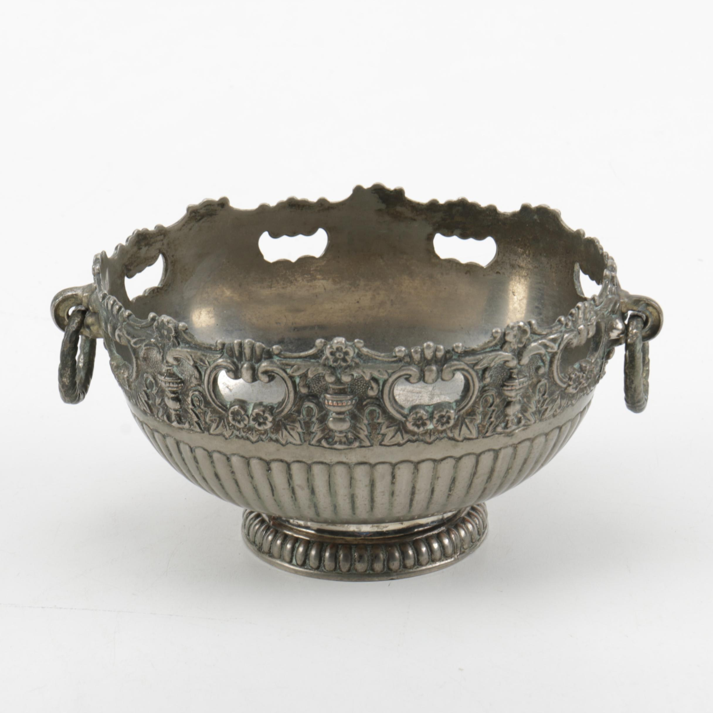 F.B. Rogers Plated Silver Dish