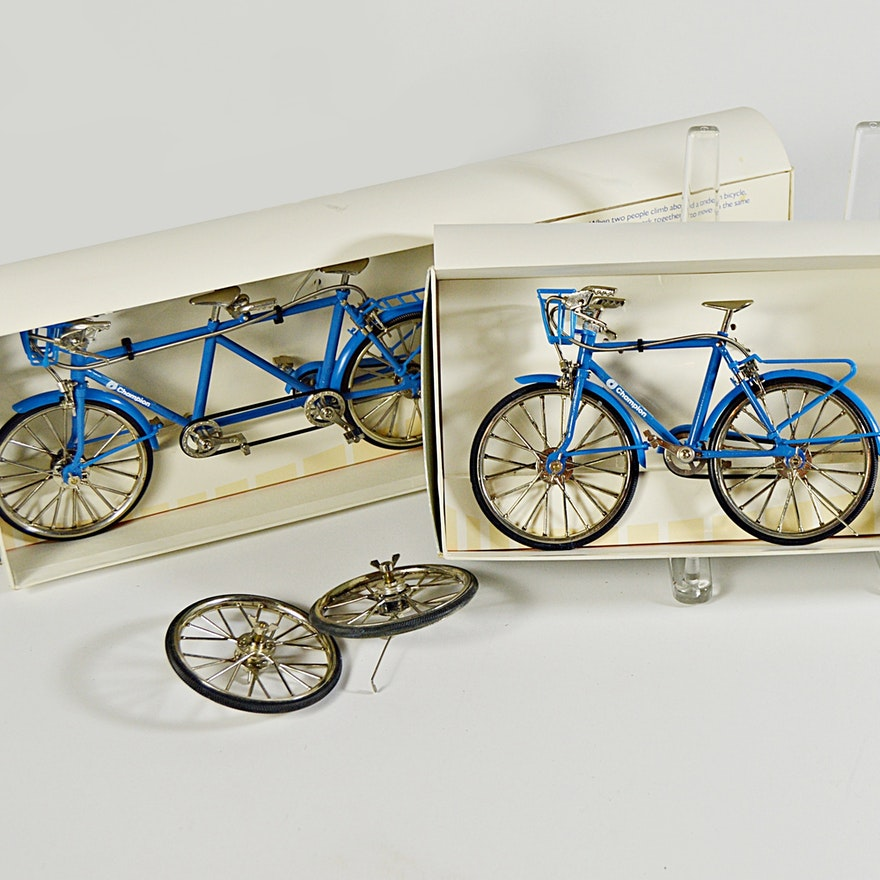 Limited Edition Champion Paper Promotional Model Bicycles