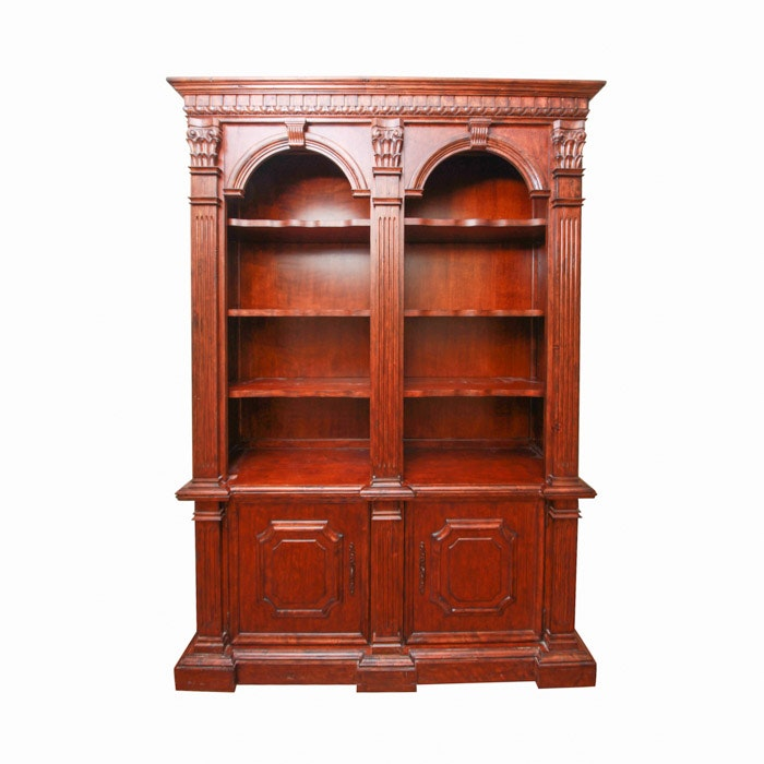 Two Arch Bookcase by Philippe Langdon