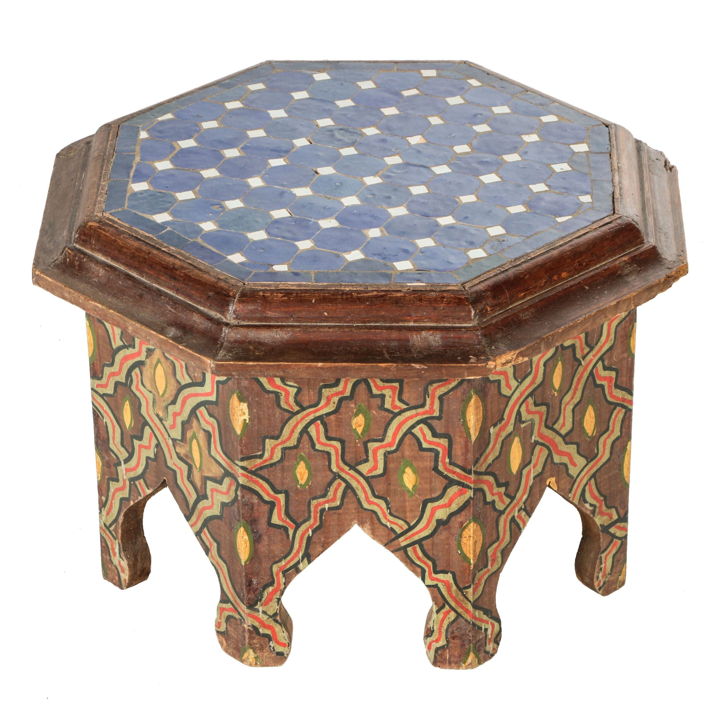 Moroccan Styled Accent Table