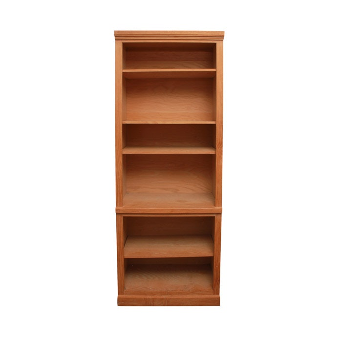 Maple Book Shelving Unit