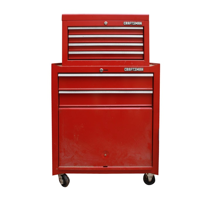 Craftsman Red Tool Cabinet