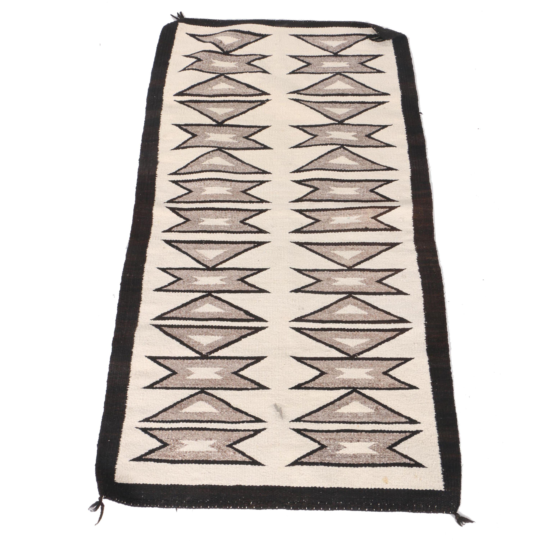 Handwoven Native American-Style Saddle Blanket
