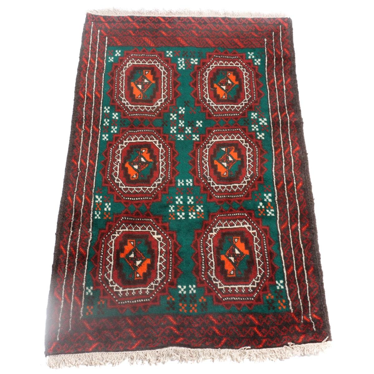 Hand-Knotted Persian Qashqai Rug