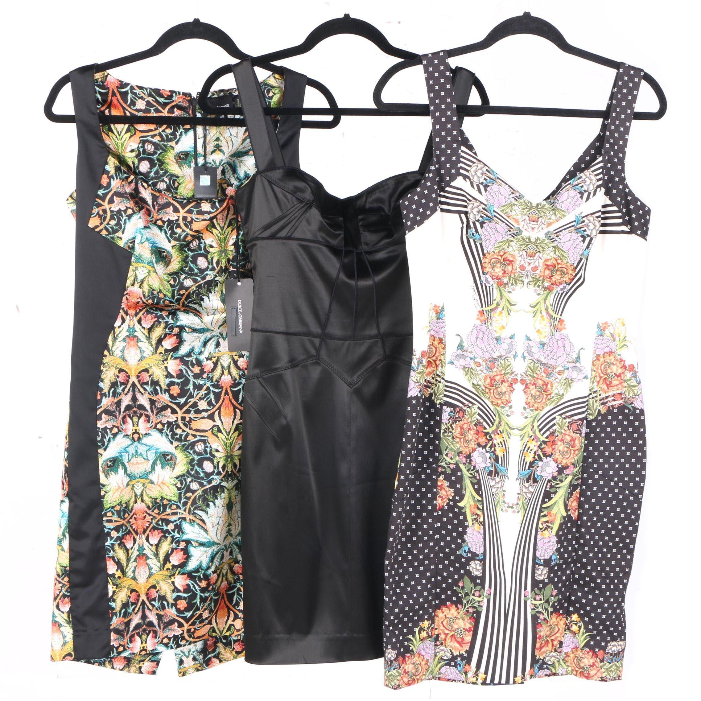 Dolce & Gabbana and Just Cavalli Women's Dresses