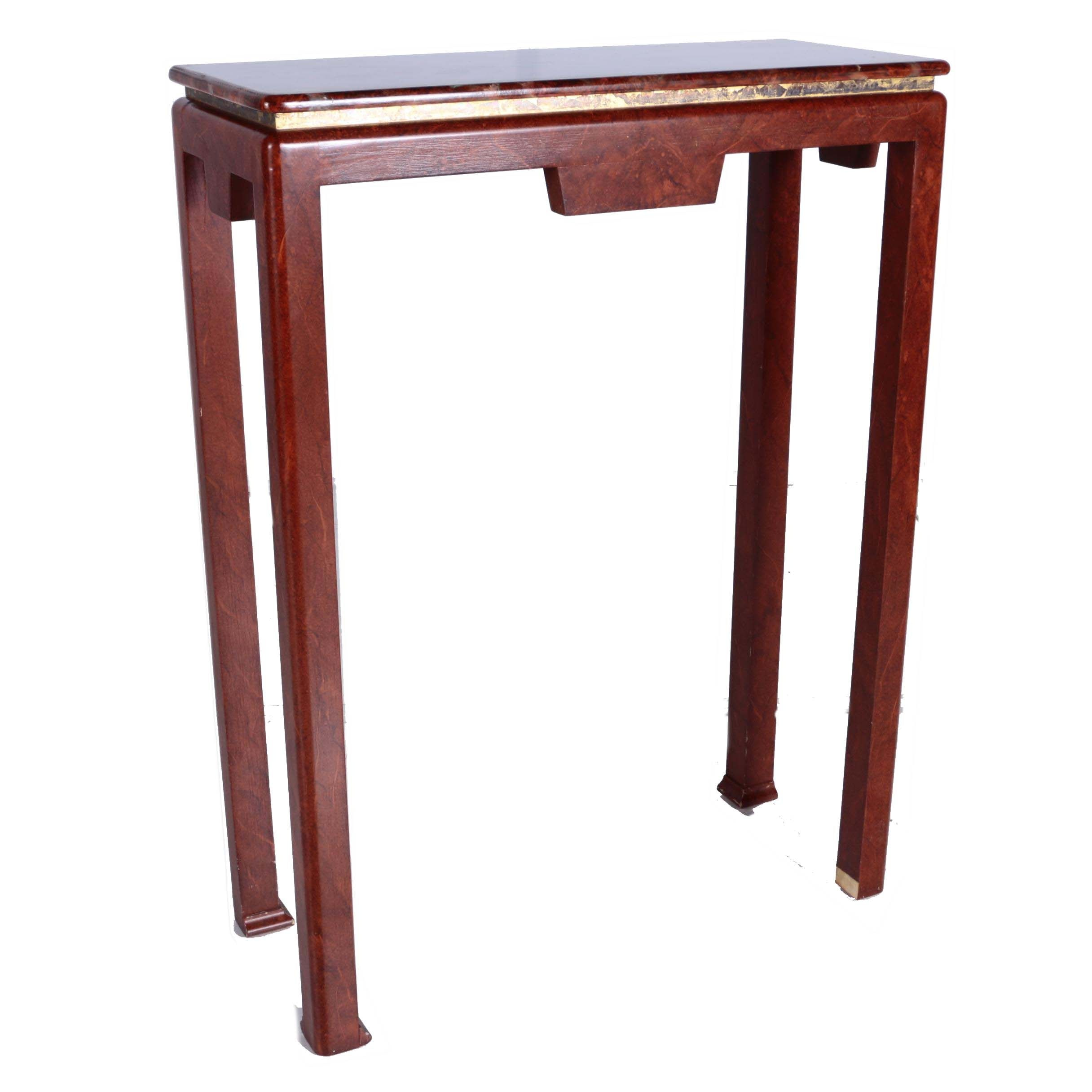 Tall Chinese Style Accent Table