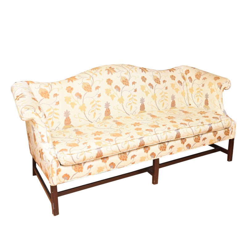 Hickory Chair Co. Chippendale Style Sofa