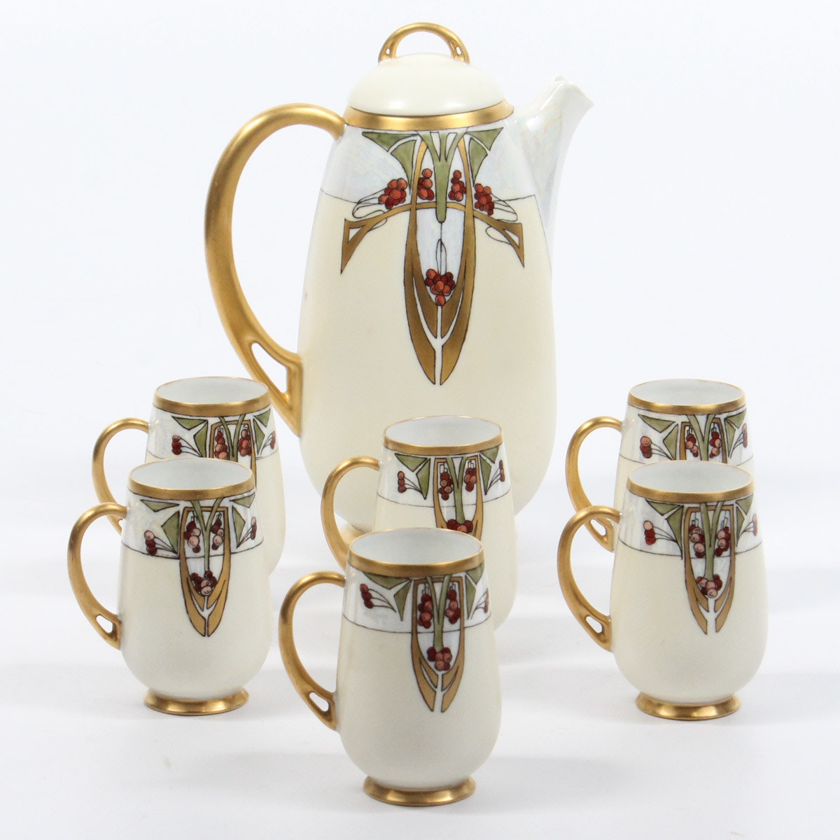 Porcelain Chocolate Set