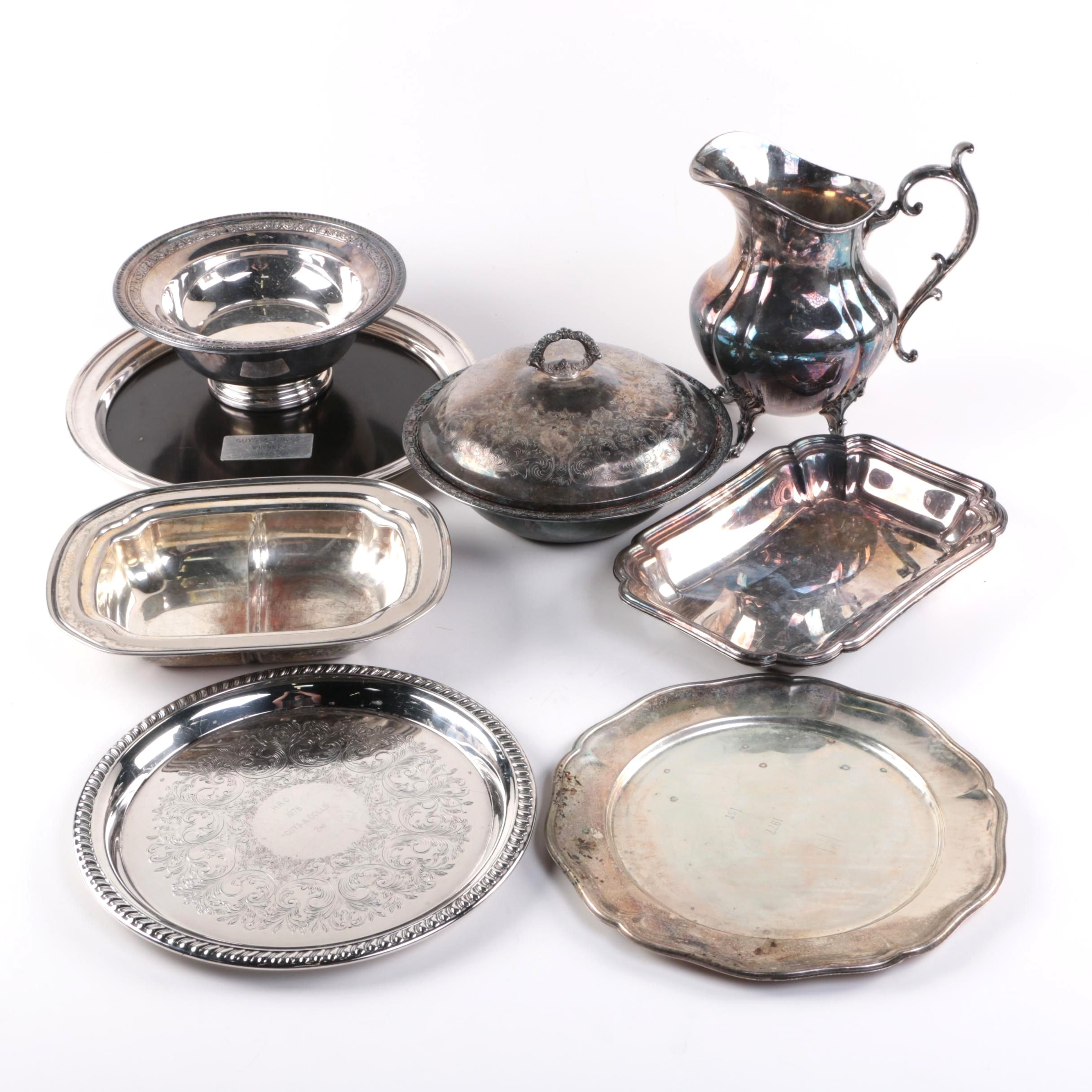 Plated Silver Serveware with Gorham