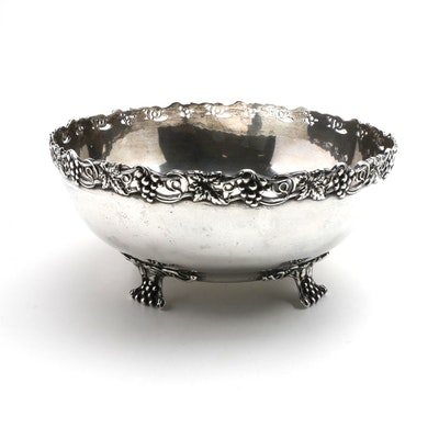 J.E. Caldwell & Co. Sterling Silver Footed Bowl
