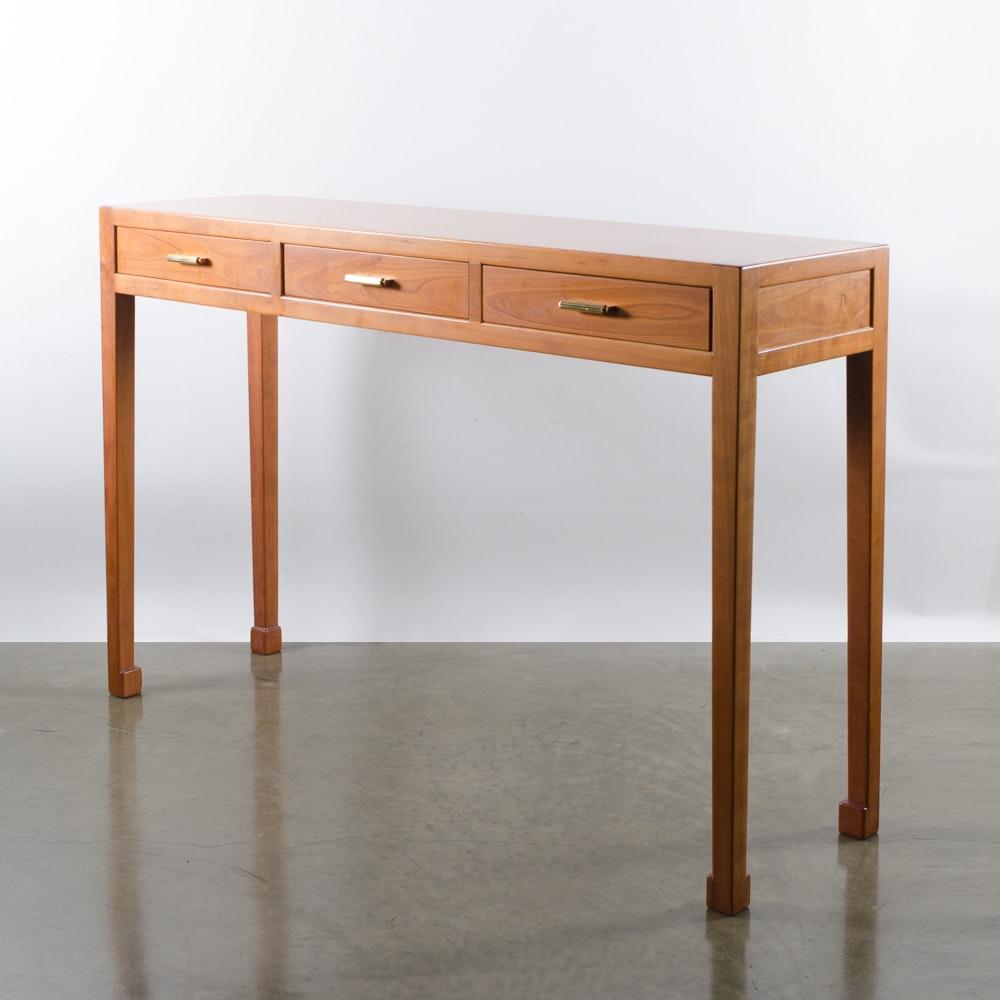 Modern Oak Credenza