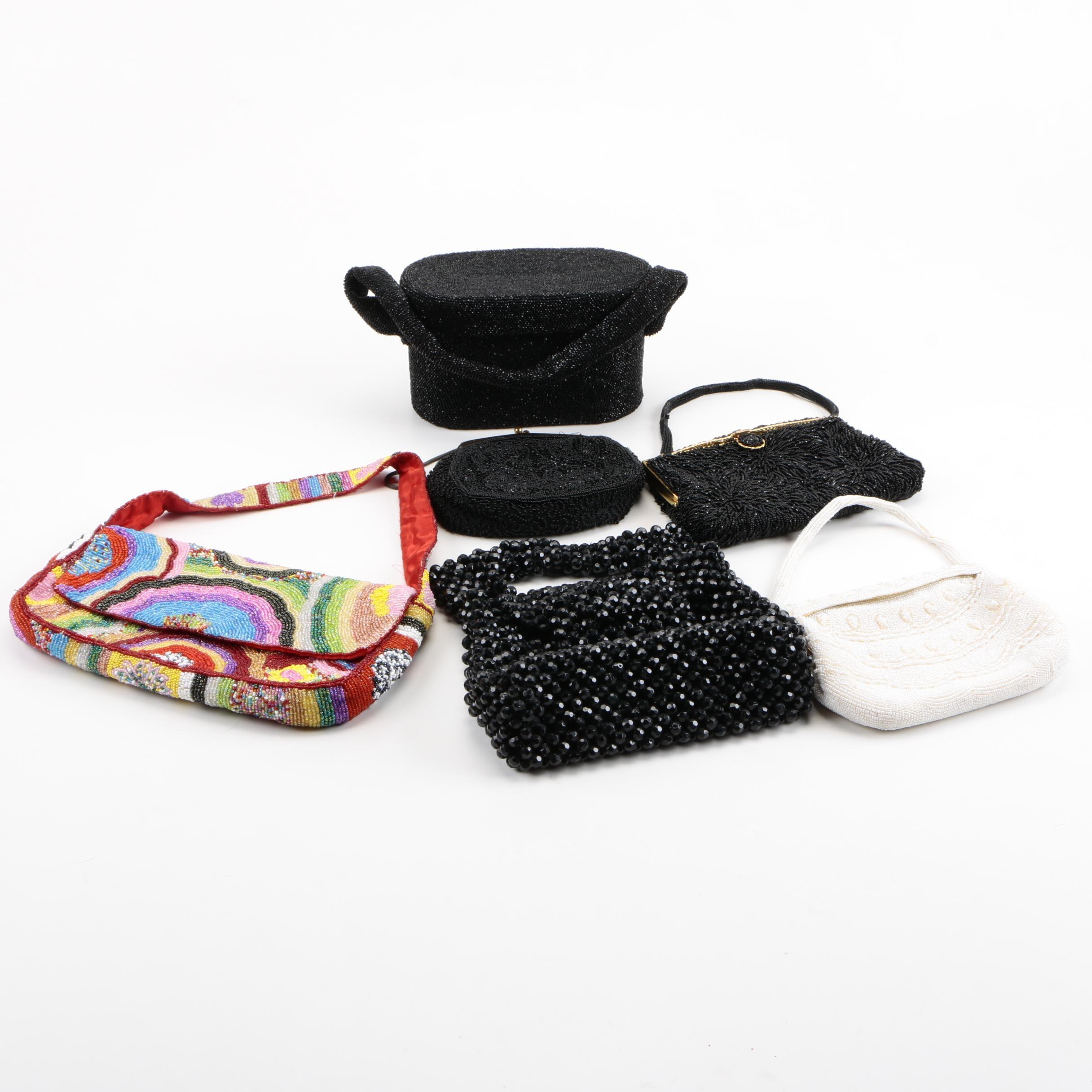 Grouping of Beaded Handbags