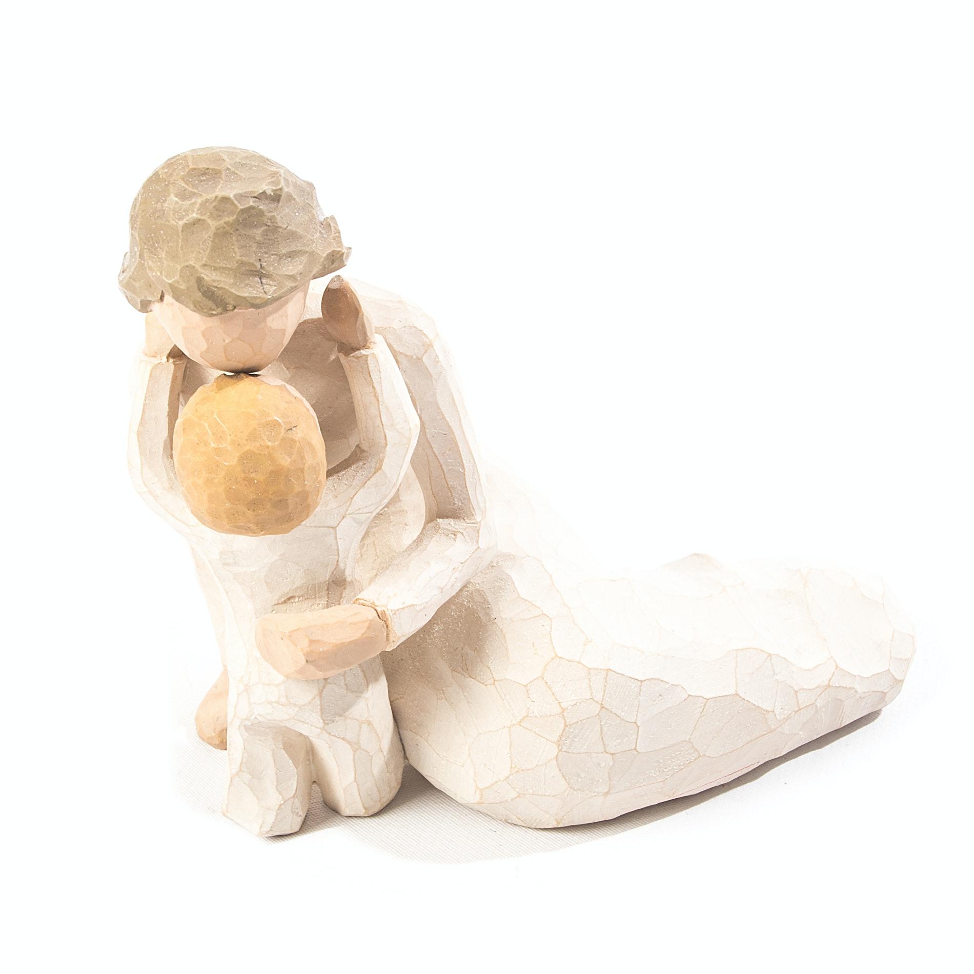 "Demdaco Willow Tree ""Child's Touch"" Figurine"