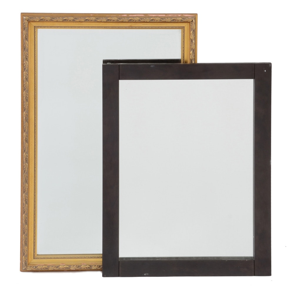 Group of Two Vintage Mirror