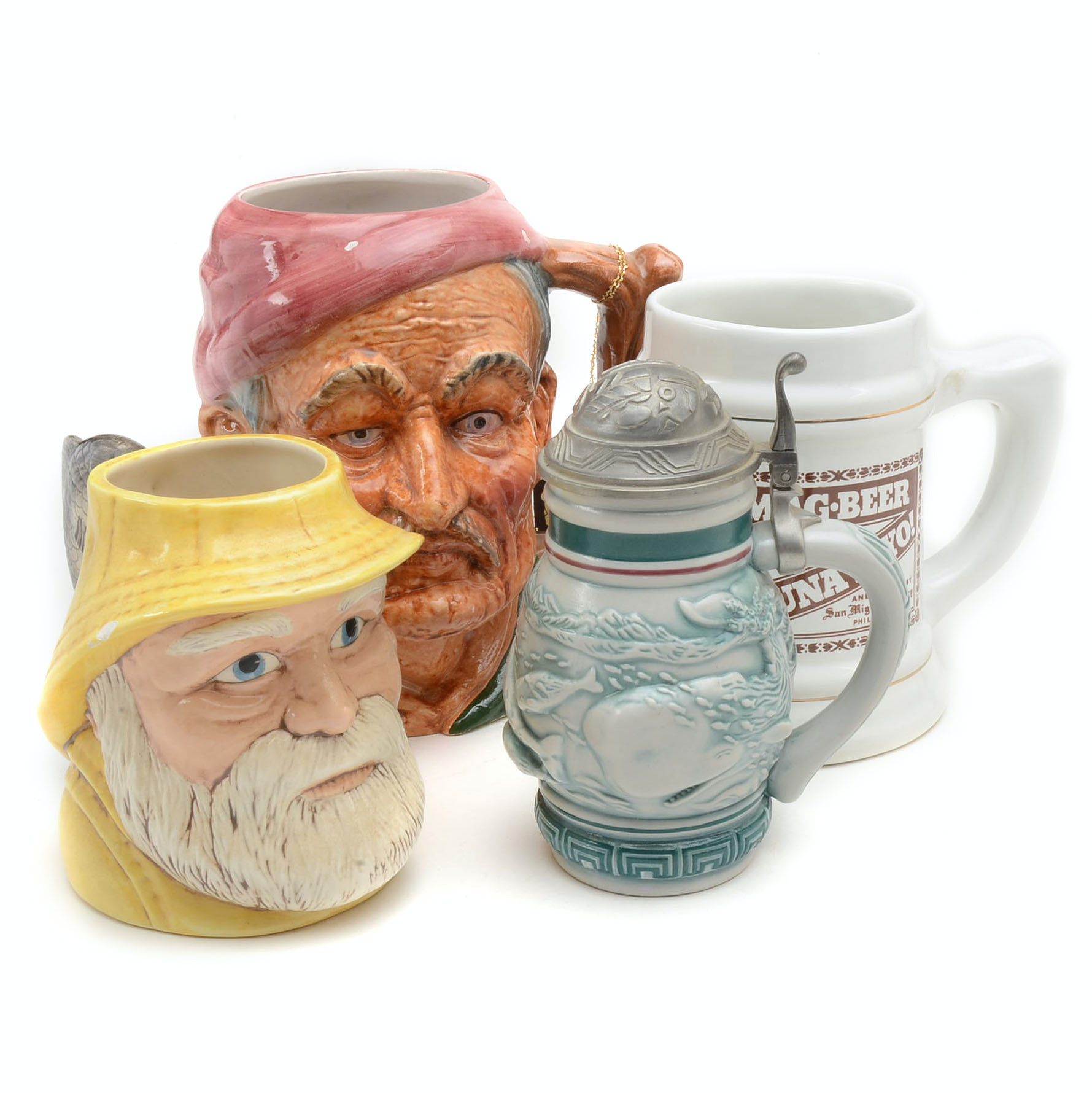 Collection of Steins and Mugs