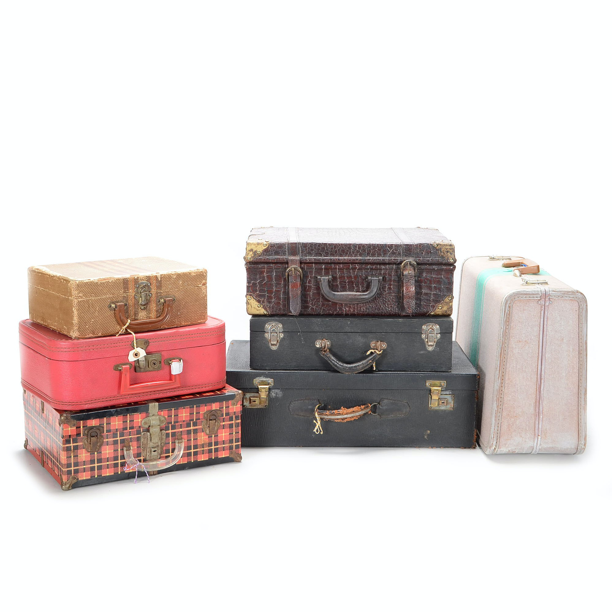 Medley of Vintage Suitcases