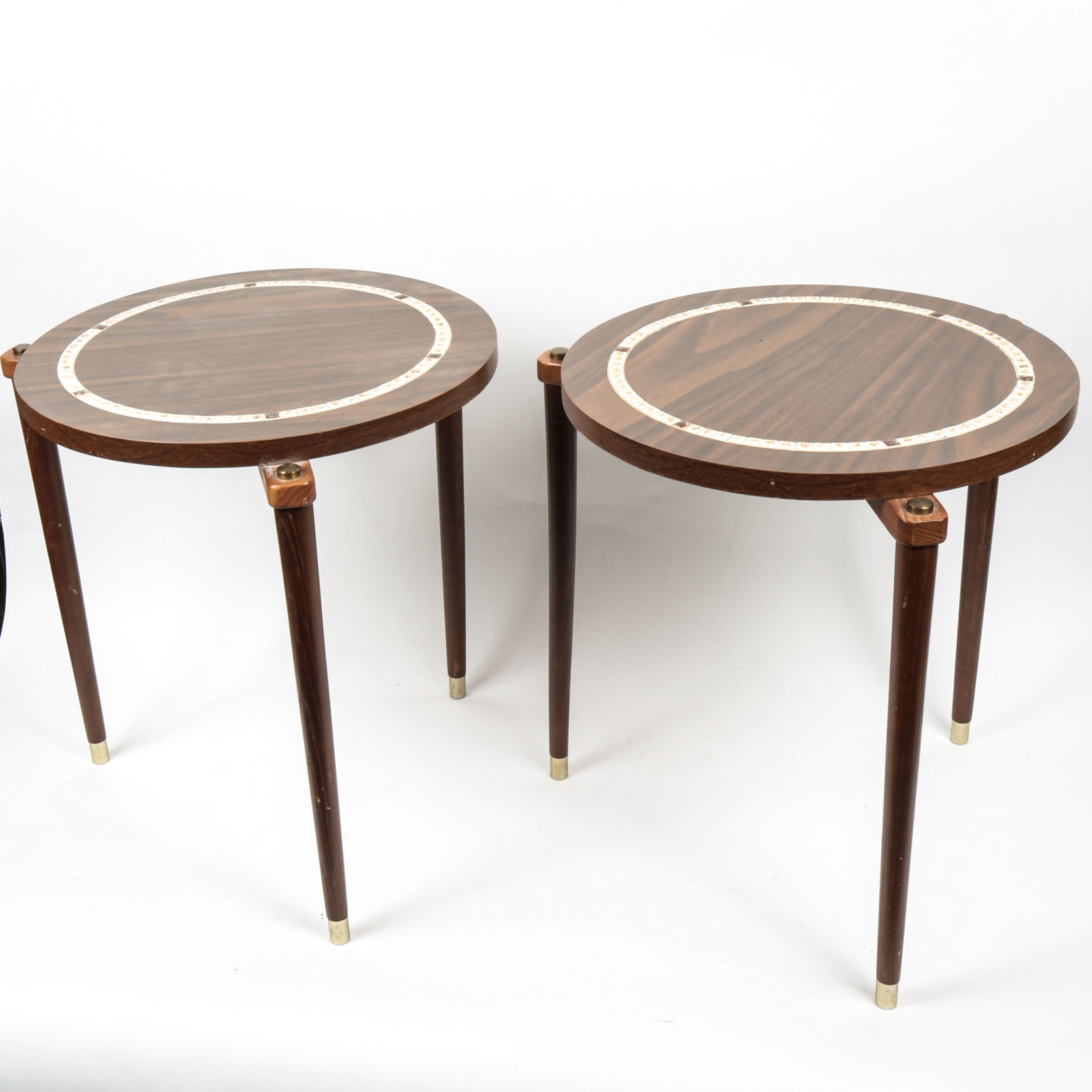 Pair of Mid Century Modern End Tables
