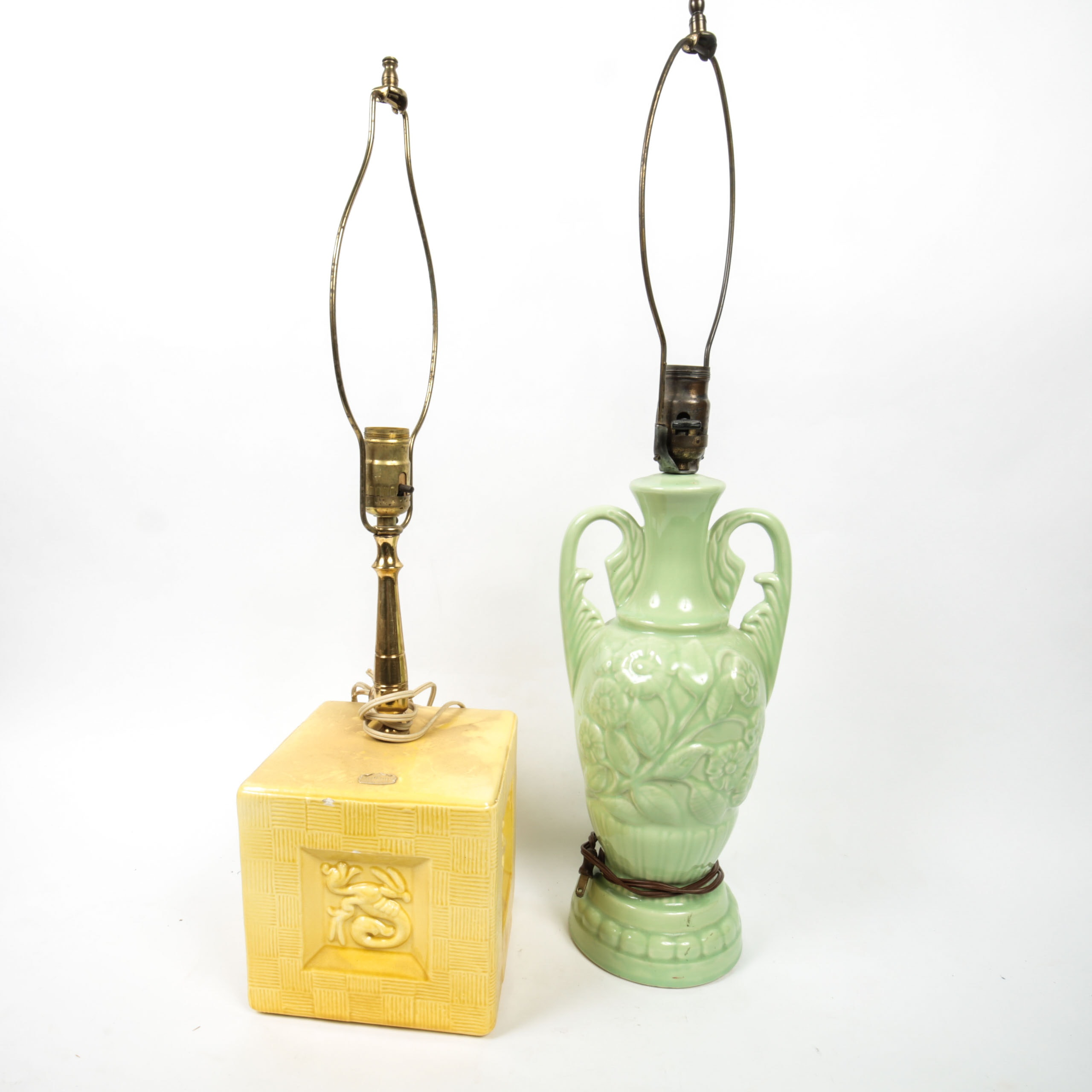 Vintage Ceramic Table Lamps