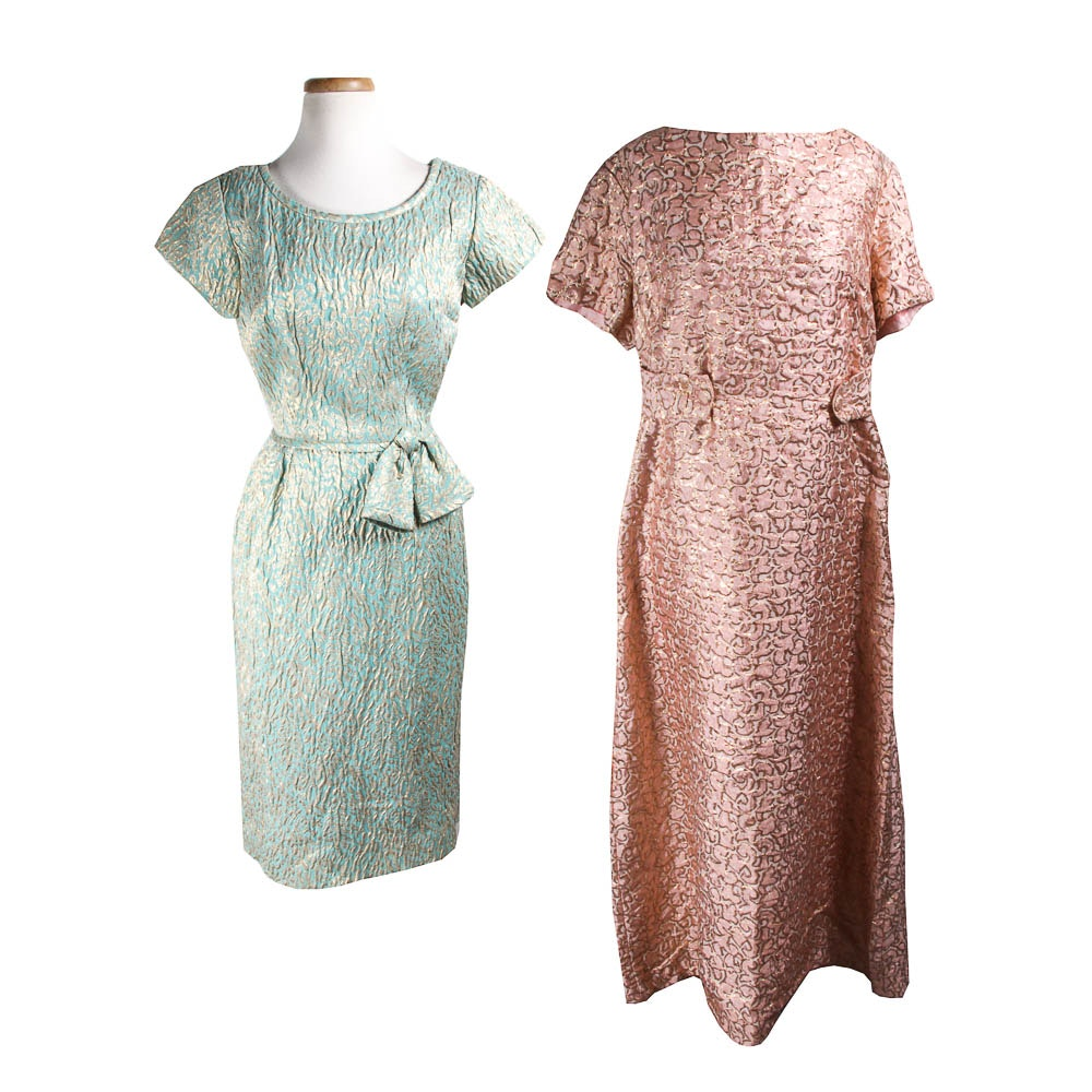 Two 1950s Vintage Evening Dresses