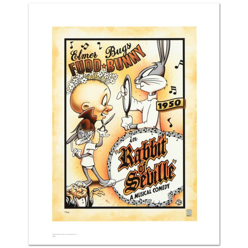 """""""Rabbit of Seville"""" Limited Edition Giclee"""