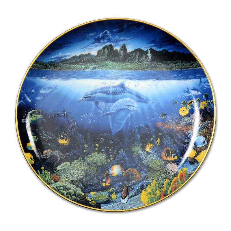 """A Discovery off Anahola"" Limited Edition Plate"