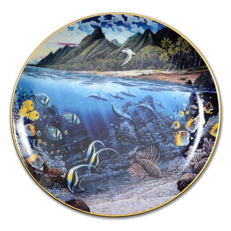 """La'ie's Sacred Princess"" Limited Edition Porcelain Collectors Plate"