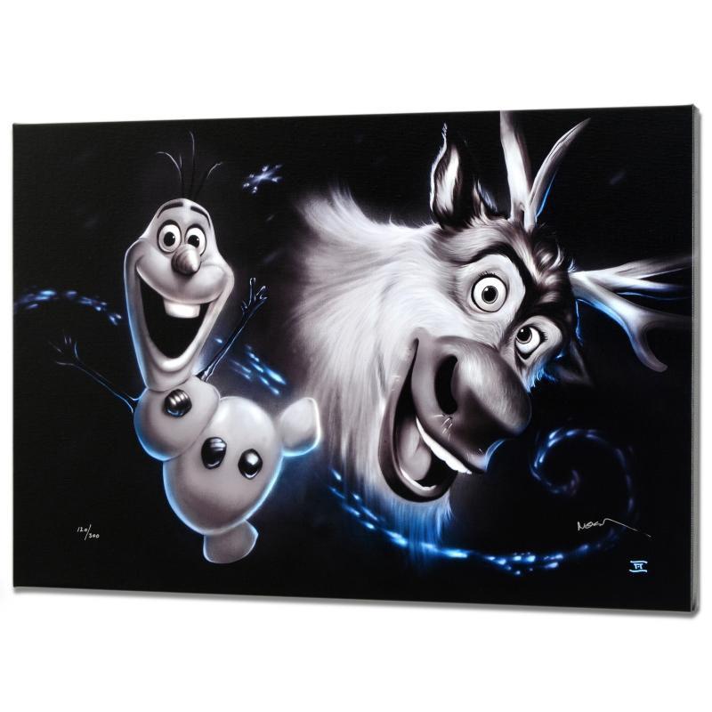 """""""Olaf & Sven"""" Disney Limited Edition"""