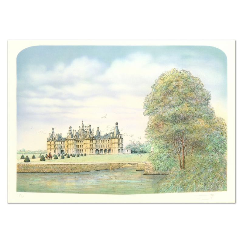 """Chateau"" Limited Edition Lithograph"