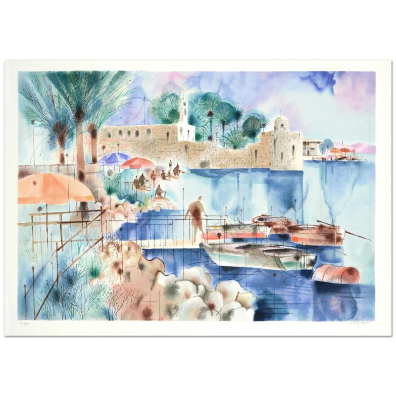 """Sea of Galilee"" Limited Edition Serigraph"