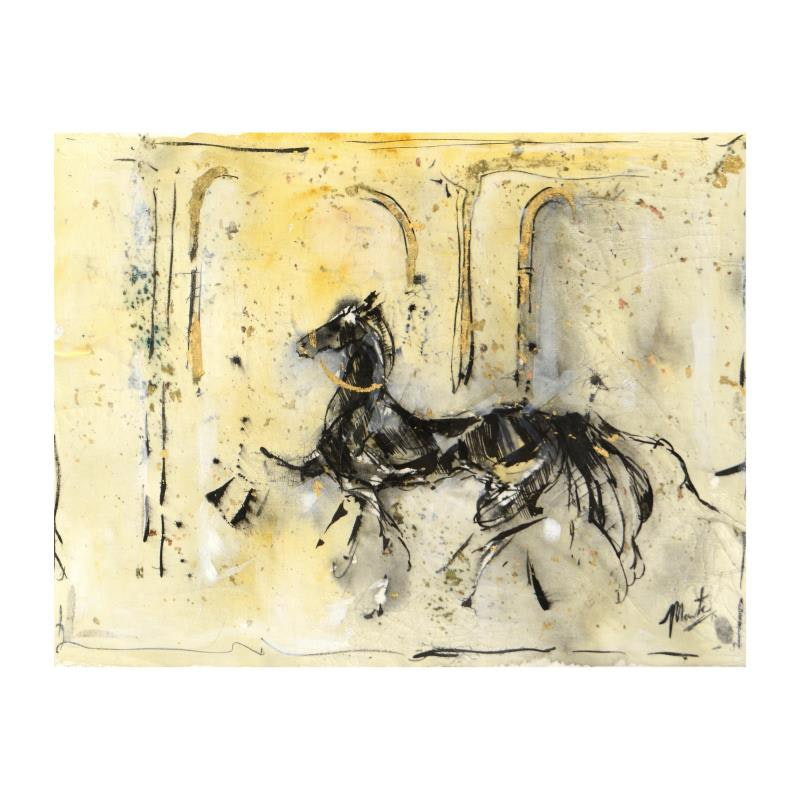 """Horse Prance"" Original Acrylic Painting"
