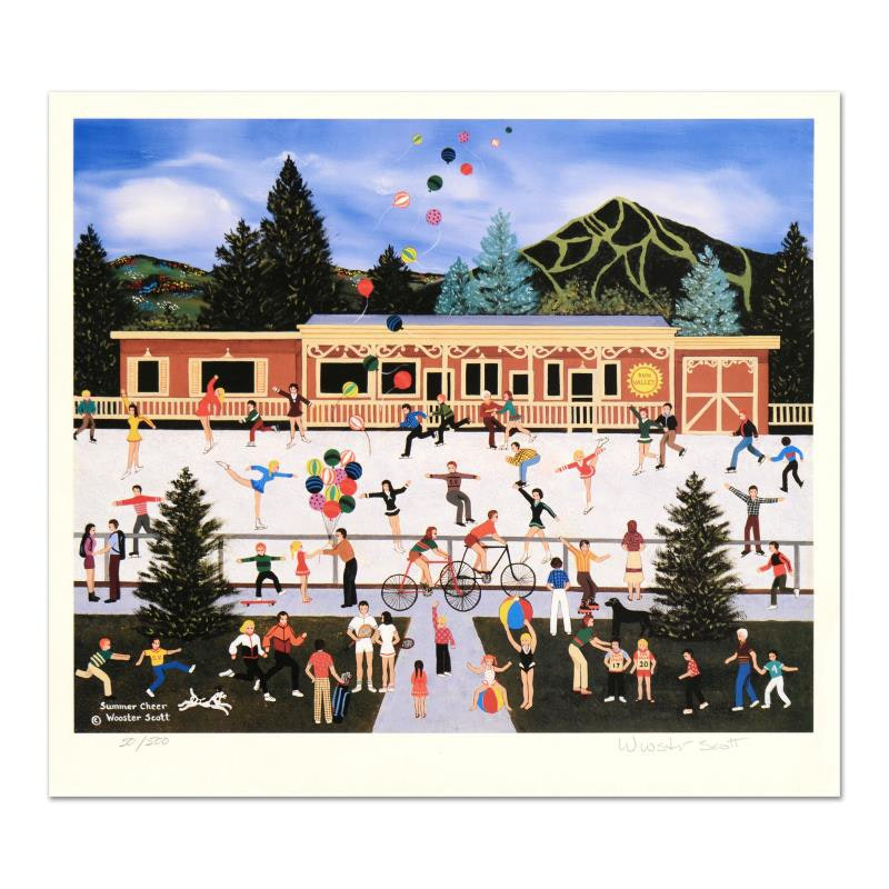 """""""Summer Cheer"""" Limited Edition Lithograph"""