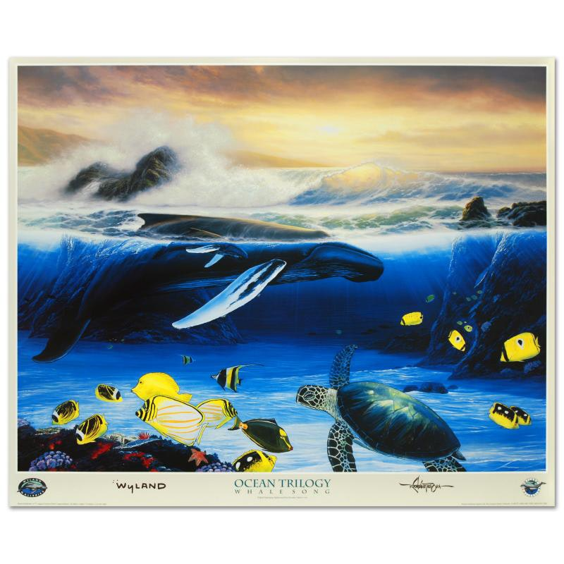 """""""Whale Song"""" Poster by Wyland"""