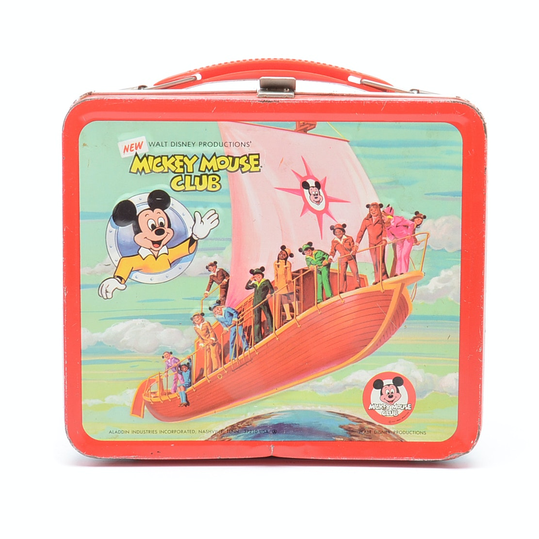 New Mickey Mouse Club Lunchbox
