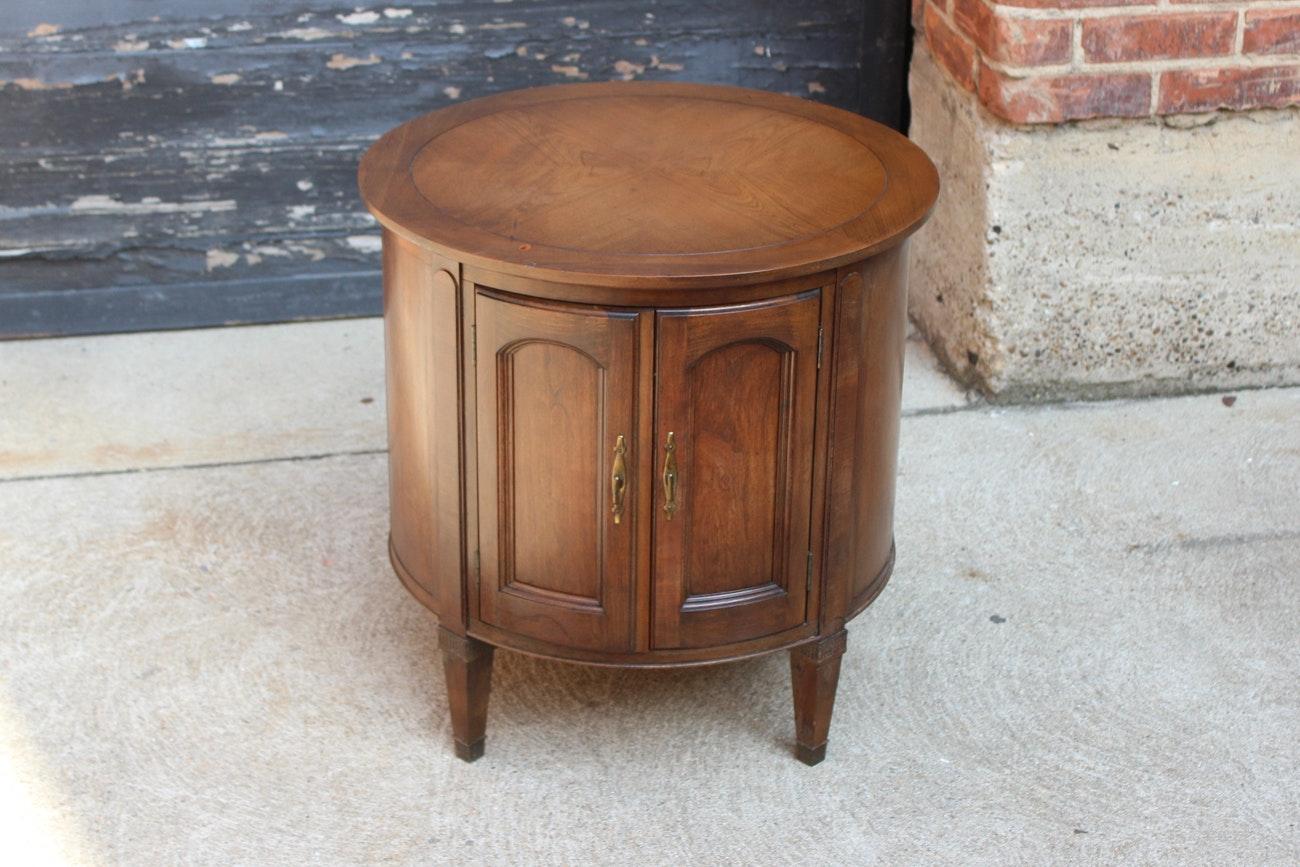 Vintage Circular Side Table