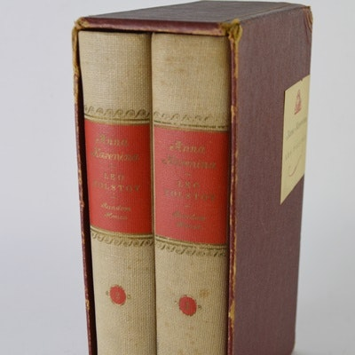 "Two-Volume ""Anna Karenina"" by Leo Tolstoy with Slipcase"