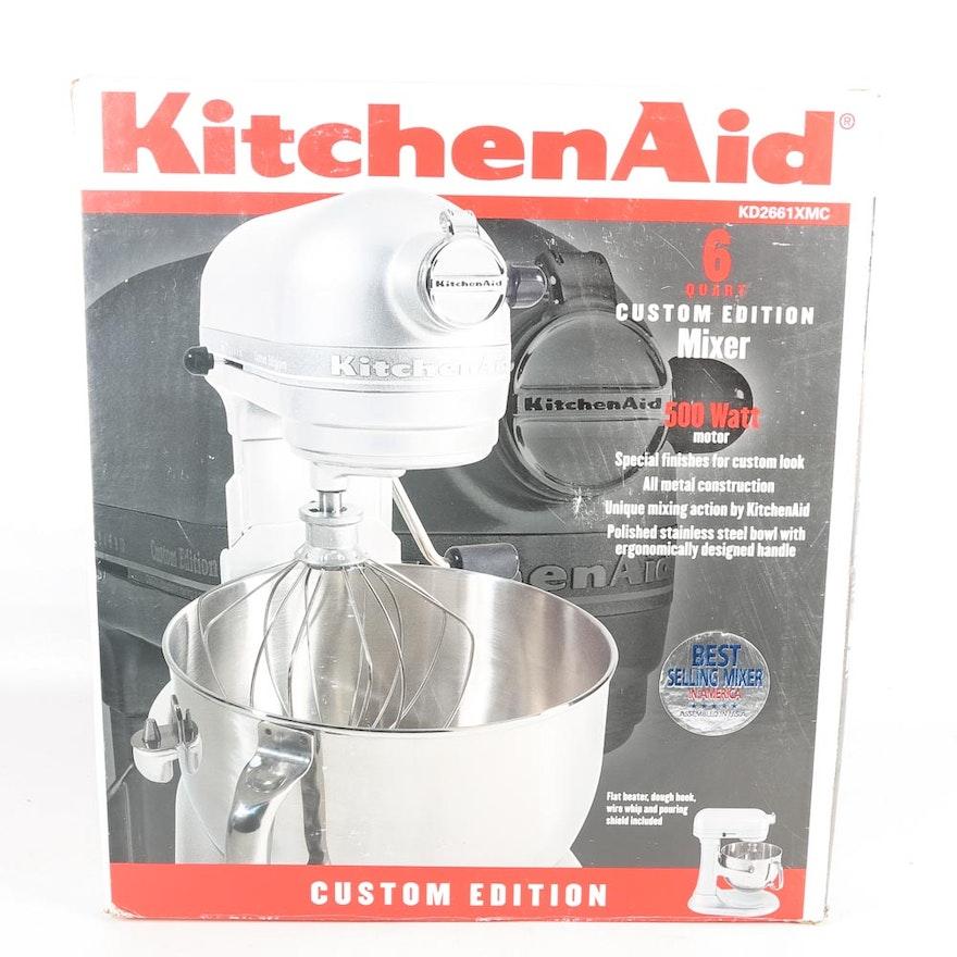 Kitchenaid 6 Quart Custom Edition Stand Mixer Ebth