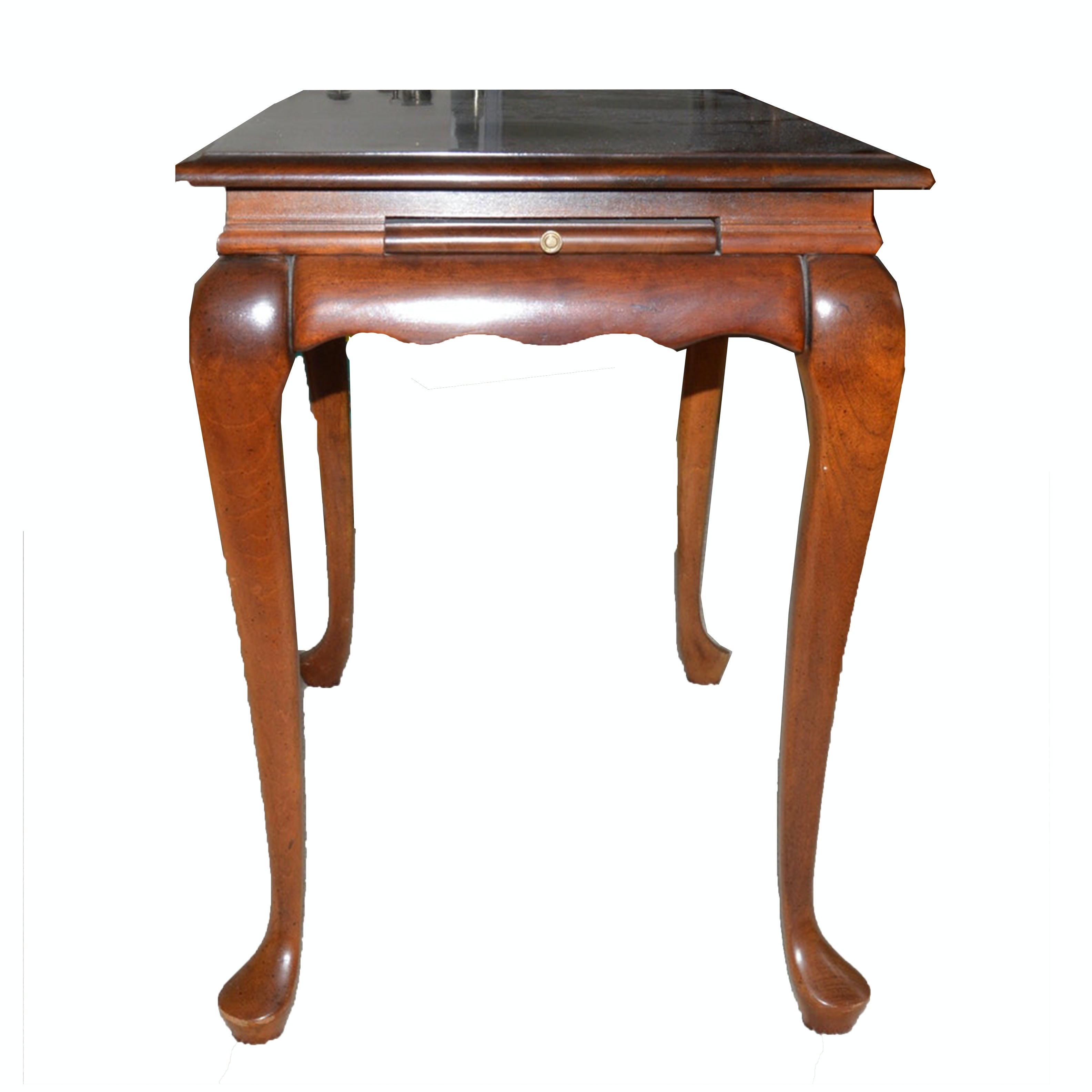 Queen Anne Style Cherry Tea Table